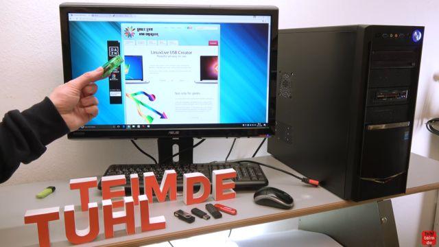 Linux auf USB-Stick erstellen - Linux Live USB Creator - LiLo Webseite mit Download
