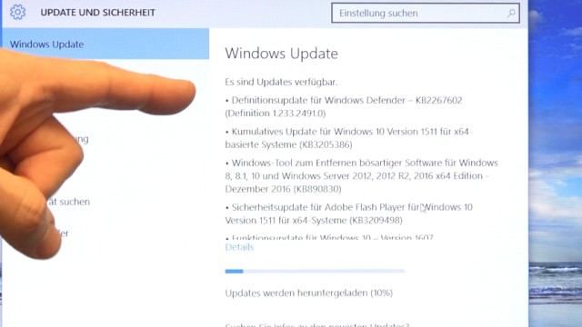 Neues Notebook einrichten - Teil 1 - Windows 10 fertig installieren und schneller machen - Windows 10 Updates werden heruntergeladen und installiert