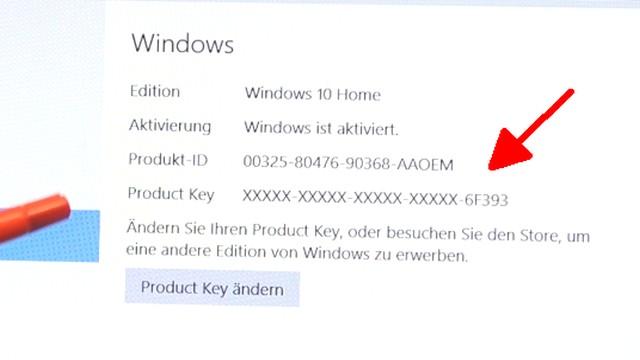 Neues Notebook einrichten - Teil 2 - Windows 10 komplett neu installieren - dieses Notebook wurde mit einem Product-Key aktiviert