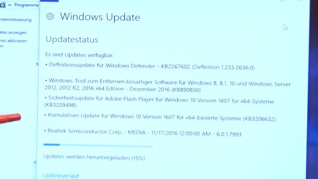 Neues Notebook einrichten - Teil 2 - Windows 10 komplett neu installieren - Windows 10 Updates runterladen