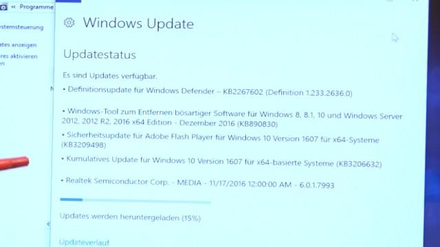 Neues Notebook einrichten - Teil 2 - Windows 10 komplett neu installieren - Windows 10 Updates runterladen