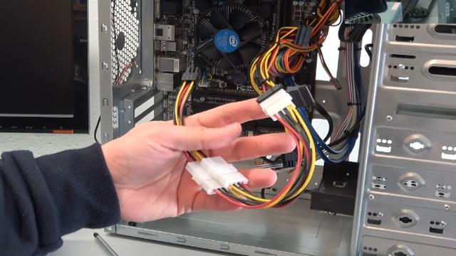 Nvidia Geforce GTX1060 GTX960 GT740 Grafikkarten Test Benchmark Installation - diesen Stromadapter sollte man nicht bauen :(