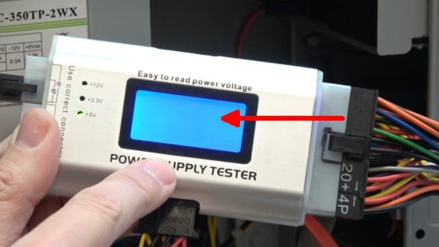 PC geht nicht an - defekt - ohne Funktion - PC reparieren - Netzteiltester zeigt plötzlich gar nichts mehr an