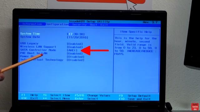 Windows 7 Update funktioniert nicht - Win7 neu installieren + Update-Problem lösen - Bios auf AHCI, Datum und Uhrzeit prüfen