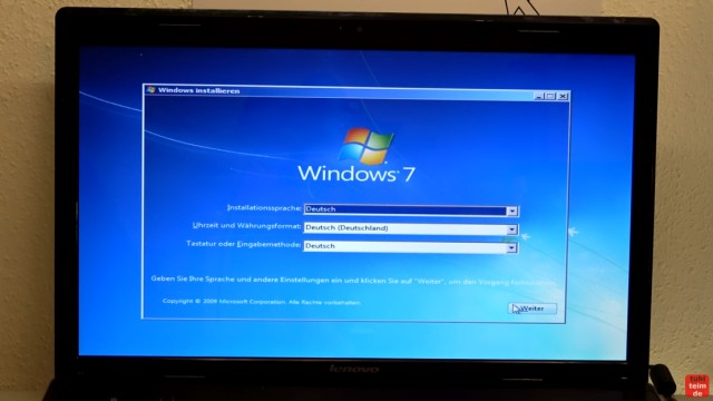 Windows 7 Update funktioniert nicht - Win7 neu installieren + Update-Problem lösen - Windows 7 hat vom USB-Stick gebootet