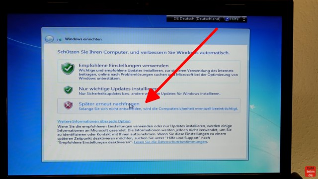 Windows 7 Update funktioniert nicht - Win7 neu installieren + Update-Problem lösen - automatische Windows 7 Updates vorerst deaktivieren