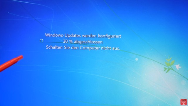 Windows 7 Update funktioniert nicht - Win7 neu installieren + Update-Problem lösen - Windows 7 installiert Updates beim Runterfahren