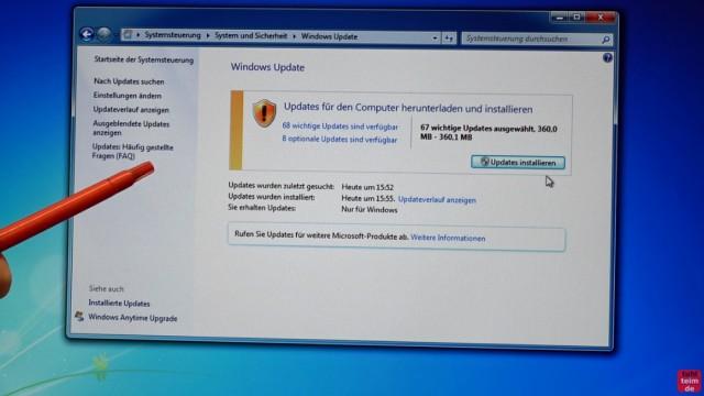Windows 7 Update funktioniert nicht - Win7 neu installieren + Update-Problem lösen - Windows 7 findet wieder selbst Updates online