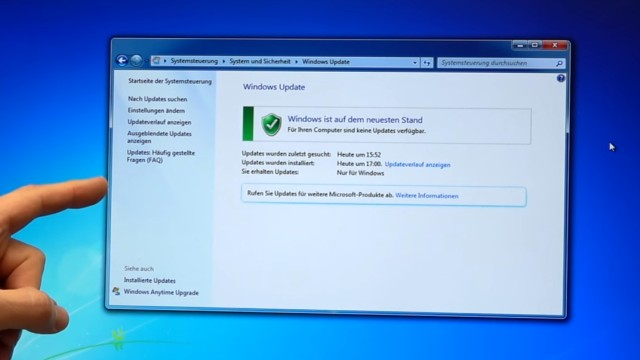 Windows 7 Update funktioniert nicht - Win7 neu installieren + Update-Problem lösen - Windows 7 hat alle Updates installiert