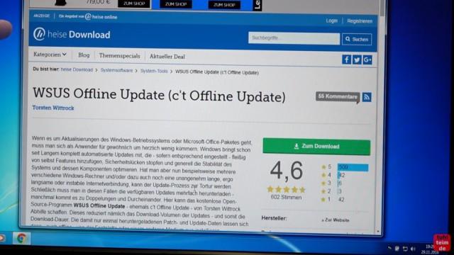 Windows 7 Update funktioniert nicht - Win7 neu installieren + Update-Problem lösen - WSUS Offline Update download