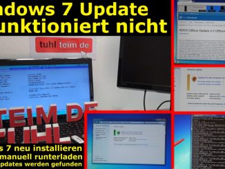 Windows 7 Update funktioniert nicht - Win7 neu installieren + Update-Problem lösen