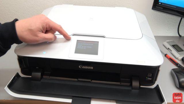 Canon Pixma Druckkopf Fehler 1403 - Druckkopftyp ist nicht korrekt - dieser Pixma zeigt den Fehlercode 1403