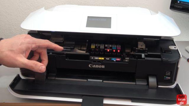 Canon Pixma Druckkopf Fehler 1403 - Druckkopftyp ist nicht korrekt - die LEDs bei einige Patronen blinken