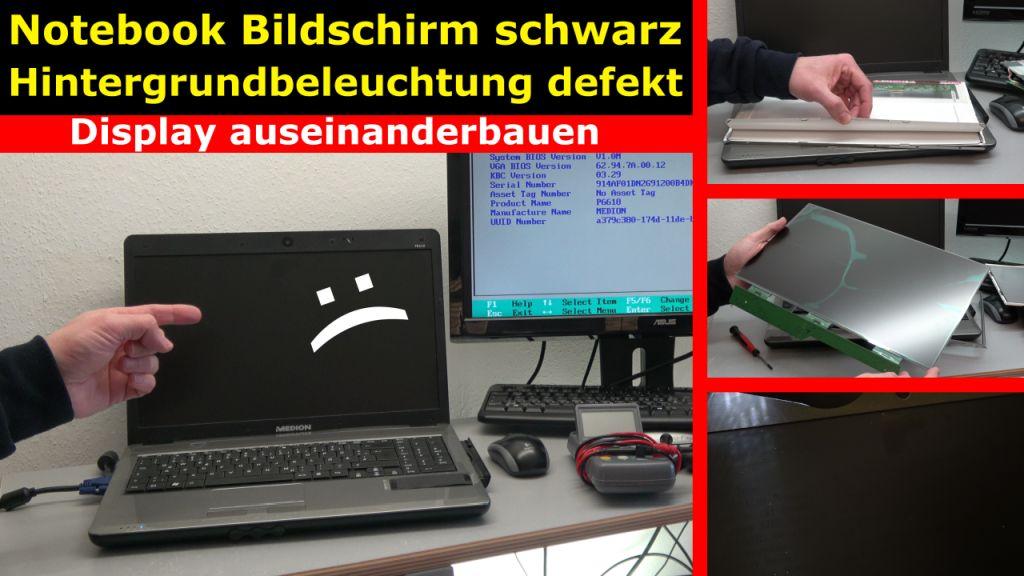 Laptop Bildschirm Bleibt Schwarz