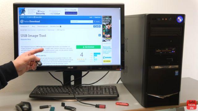 USB Stick kopieren 1 zu 1 - bootfähig - Tool für Windows 10 und 7 - USB Image Tool herunterladen - Download