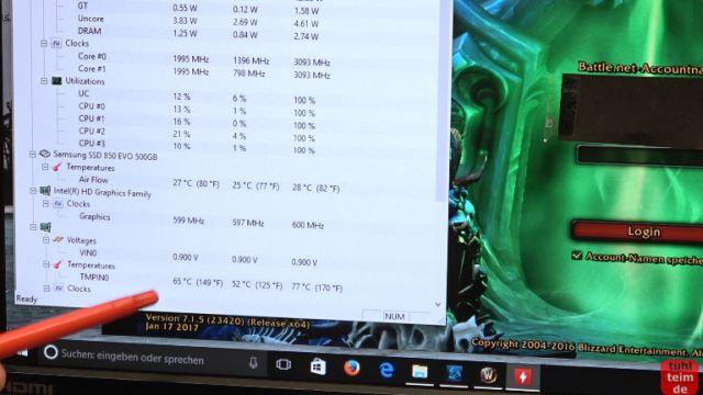 Notebook geht einfach aus nach 10 Minuten spielen - überhitzt schaltet sich aus - das Notebook funktioniert wieder und die GPU (NVidia) wird nur noch 65° warm