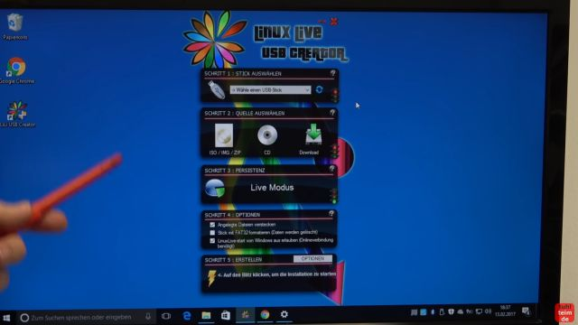 Ultimate Boot CD runterladen auf USB-Stick oder CD - PC oder Laptop testen - Linux Live USB Creator Software erstellt einen bootbaren USB-Stick
