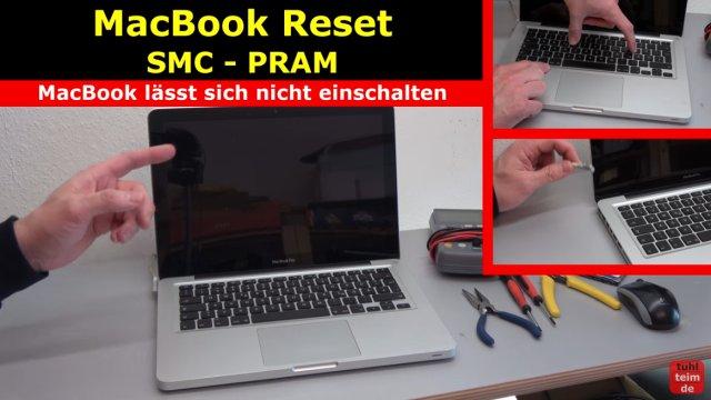 MacBook Hardware Reset | SMC | PRAM - dieses MacBook lässt sich nicht mehr einschalten