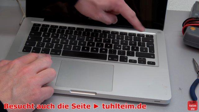 MacBook Hardware Reset | SMC | PRAM - das MacBook läßt sich nicht mehr mit dem Einschalter einschalten