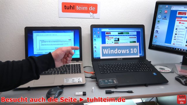 Windows 7 - Treiberproblem xHCI - auf neuem Windows 10 - FreeDos Notebook installieren - Problem besteht auch bei Windows 10 Notebook