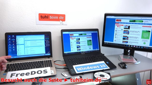 Windows 7 - Treiberproblem xHCI - auf neuem Windows 10 - FreeDos Notebook installieren - Windows 7 lässt sich installieren