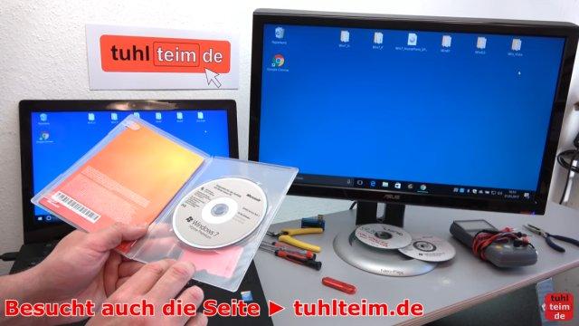 Windows USB-Stick erstellen und bootfähig machen zum Installieren Windows 10 7 8 - alternativ einfach die CD oder DVD verwenden