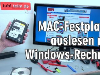 Apple Mac / iMac MacBook HFS+ Festplatte auslesen mit Windows-PC