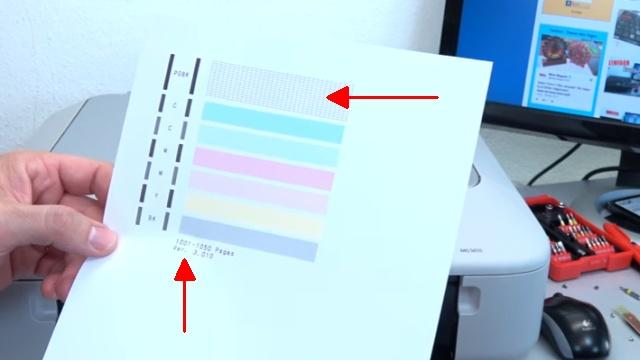 Canon Pixma druckt kein Schwarz mehr trotz voller Patrone PGBK neue Patrone defekt - die neue Tintenpatrone druckt sofort einwandfrei