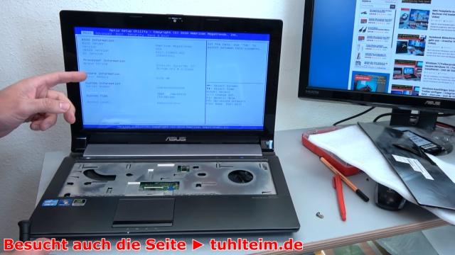 Notebook funktioniert nicht mehr | ohne Funktion - Powerplatine DC Buchse Board tauschen - das Notebook funktioniert wieder