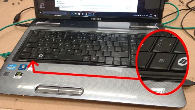Windows 10 FN-Taste ist immer an - Funktionstaste immer gedrückt - funktioniert invers
