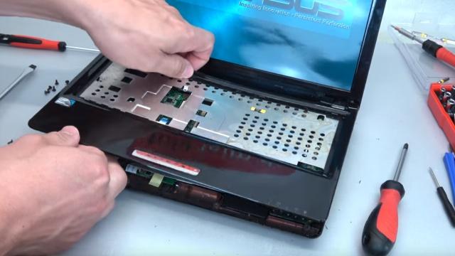 Asus eeePC Netbook / Laptop öffnen - HDD SSD RAM Lüfter Tastatur tauschen - reparieren - Gehäuse öffnen