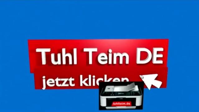 Blender 01 Anleitung - Tuhl Teim DE Intro erstellen mit Video, transparenten PNGs, 3D-Schrift und Kamerafahrt - gerenderte Szene