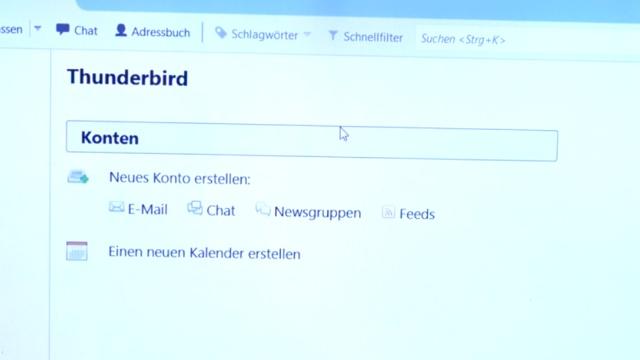 Thunderbird Profil kopieren - Backup auf USB-Stick - Emails und Konto sichern - Thunderbird auf dem neuen Rechner starten