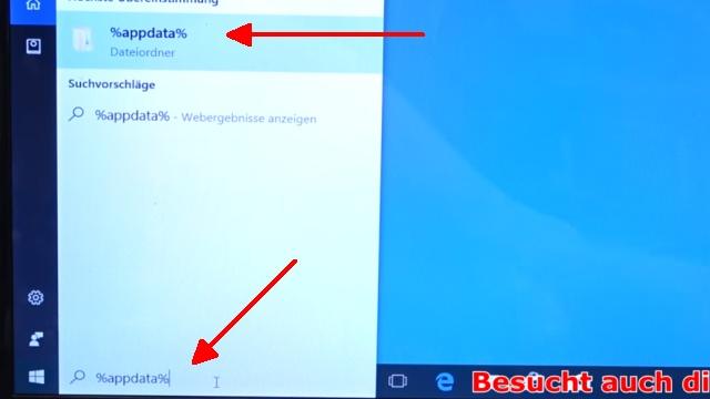 Thunderbird Profil kopieren - Backup auf USB-Stick - Emails und Konto sichern - mit %appdata% Profile-Ordner öffnen