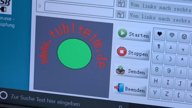 USB Ventilator LED - programmierbar - die Programmierung kann simuliert werden
