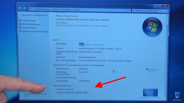 Windows 10 Update Download noch kostenlos - Aktivierung prüfen