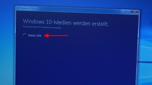 Windows 10 Update Download noch kostenlos - Windows 10 wird runtergeladen