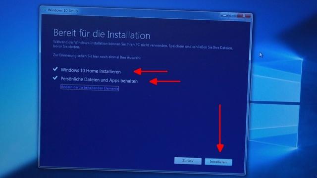 Windows 10 Update Download noch kostenlos - Persönliche Daten und Apps behalten