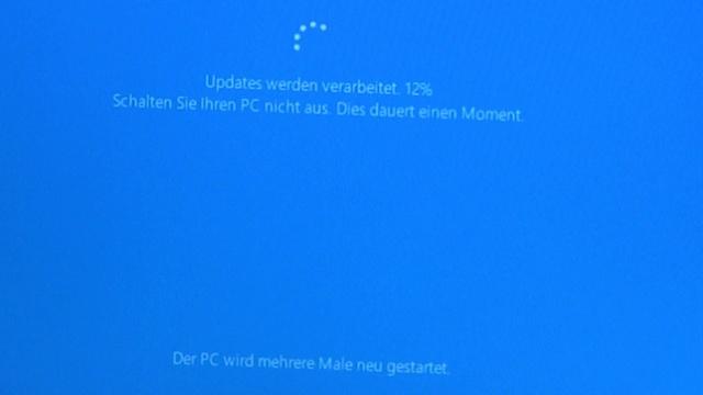 Windows 10 Update Download noch kostenlos - Windows 10 wird installiert