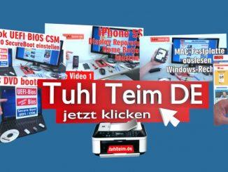 Willkommen bei Tuhl Teim DE - eurem IT-Kanal im Netz