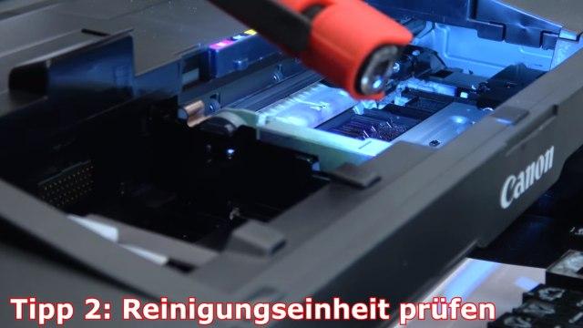 Canon Pixma B200 Fehler - 10 Tipps zur Fehlerbehebung | Error Supportcode 1660 1200 - Reinigungseinheit (Purge Unit) prüfen