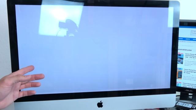 Apple iMac Pro rote Streifen im Display - startet nicht mehr | Startdisplay | reboot - iMac bootet wieder - Desktop wird nicht angezeigt