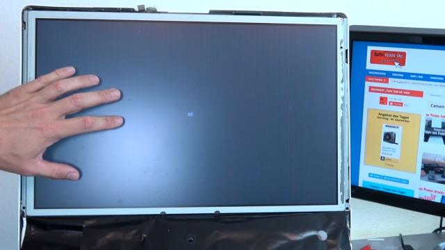 Apple iMac Pro rote Streifen im Display - startet nicht mehr | Startdisplay | reboot - anderer iMac mit vergleichbarem Problem