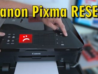 Canon Pixma RESET - Drucker zurücksetzen