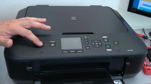 Canon Pixma Drucker lässt sich nicht mehr einschalten - Netzteil testen - dieser Pixma lässt sich nicht einschalten