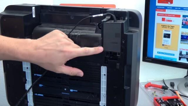 Canon Pixma Drucker lässt sich nicht mehr einschalten - Netzteil testen - Netzteile sind bei Canon meistens nur eingesteckt