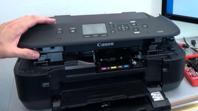 Canon Pixma Drucker lässt sich nicht mehr einschalten - Netzteil testen - Drucker mit Mainboad/Steuerplatinendefekt