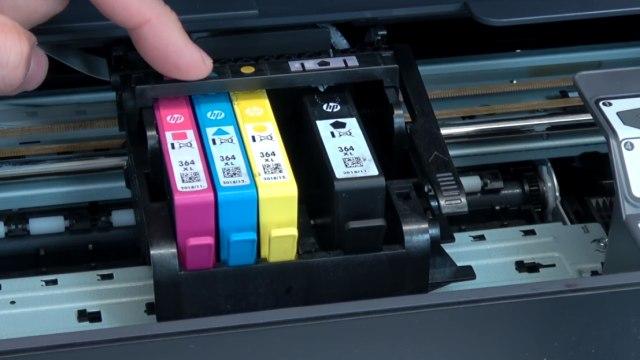 Hewlett-Packard Drucker Fehler Tintensystem - 0xc19a - aus und wieder einschalten - OfficeJet DeskJet Photosmart Envy - Tintenpatronen prüfen
