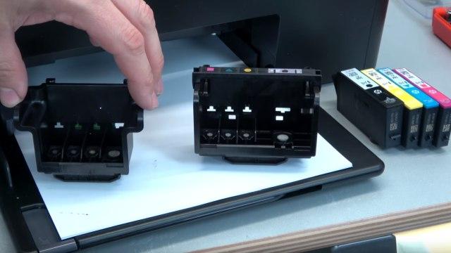 Hewlett-Packard Drucker Fehler Tintensystem - 0xc19a - aus und wieder einschalten - OfficeJet DeskJet Photosmart Envy - neuen / anderen Druckkopf testen