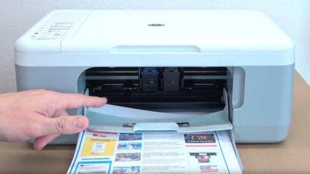 HP Drucker Tintenauffangbehälter voll - Tinte läuft unten aus dem Drucker - Drucker funktioniert soweit normal